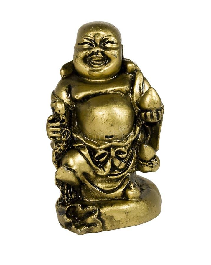 Statuette von Buddha stockbild