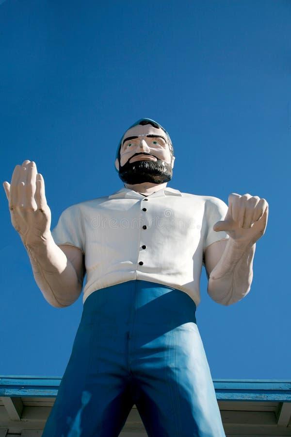 Stature géante d'homme photo libre de droits