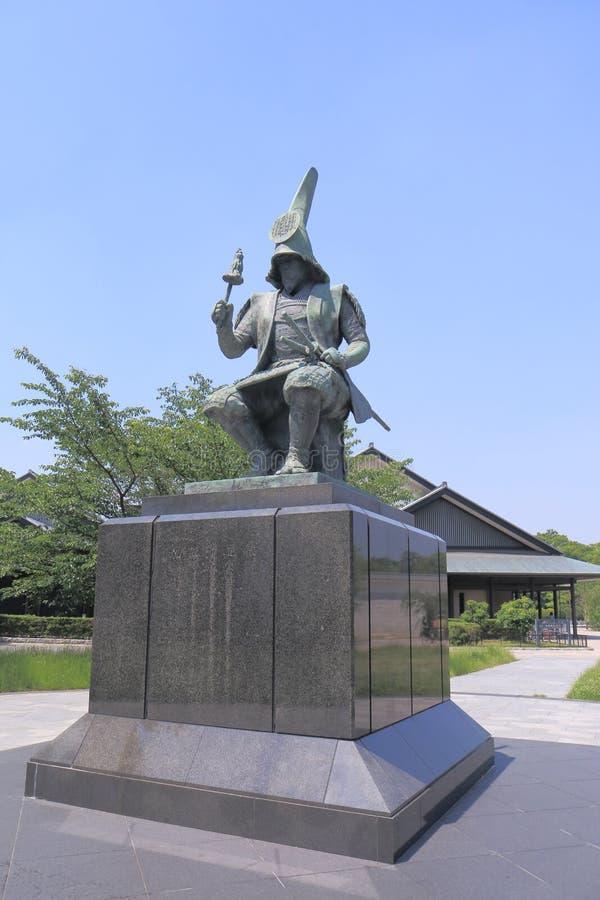 Stature of Japanese Samurai. Kiyomasa Kato in Nagoya Japan royalty free stock image
