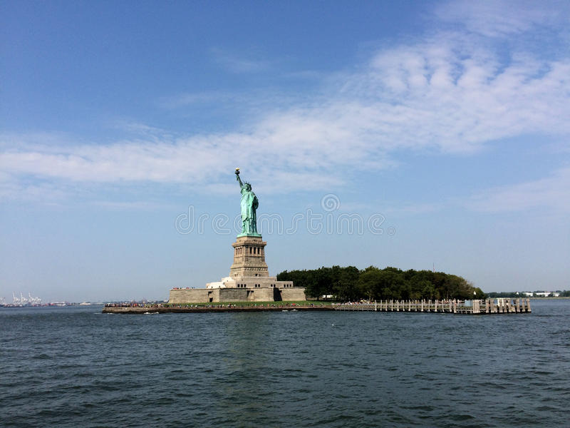 Status of liberty royalty free stock photo