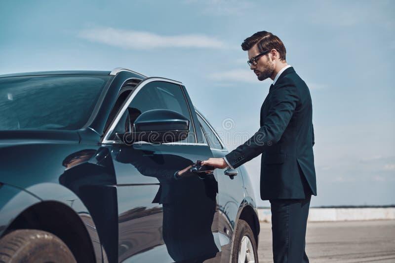 Statusu właściciel samochodu fotografia royalty free