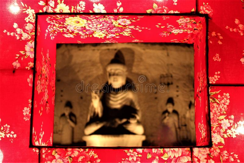 Statut de Buddah en FO Guang Shan Dong Zen Temple, photos stock