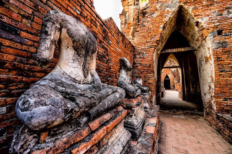 Statuto di Buddha fotografia stock libera da diritti