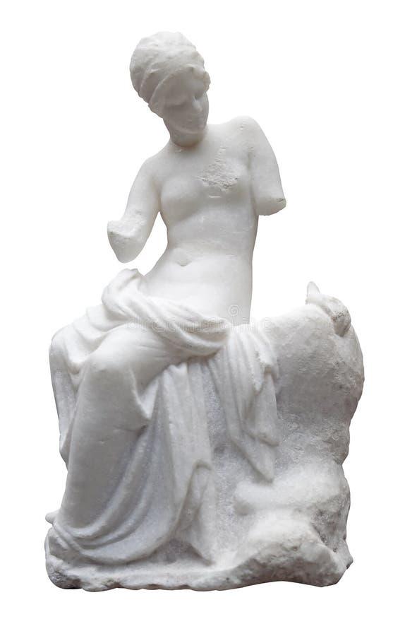 statuy antyczna marmurowa naga kobieta zdjęcia royalty free
