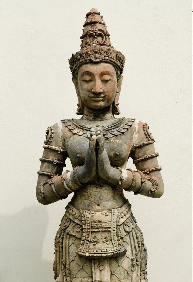 statuy azjatykcia religijna świątynia obraz royalty free