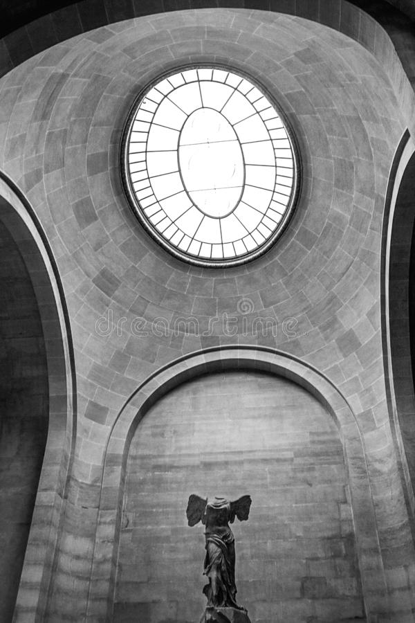 Statuy bogini zwycięstwo fotografia royalty free