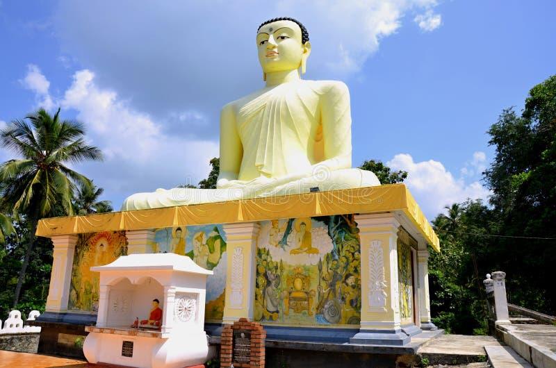 Statuy Buddha w Sri Lanka obrazy royalty free