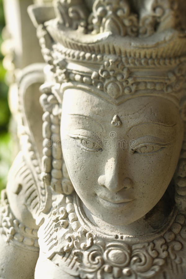statuy buddyjski kuan yin zdjęcie royalty free