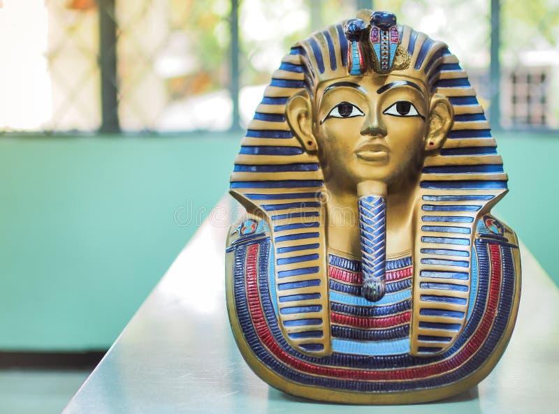 Statuy królewiątka pharaoh zdjęcie royalty free