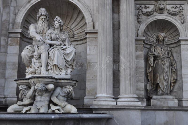statuy Vienna zdjęcia royalty free