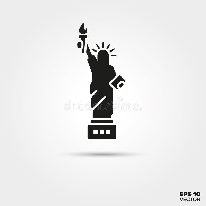 Statuy Wolności ikona ilustracji
