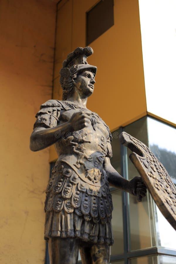 Staty av achilles fotografering för bildbyråer