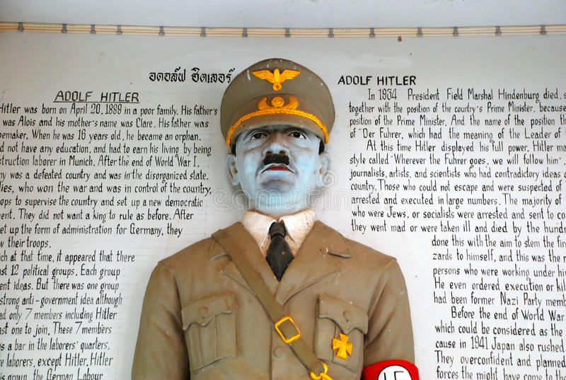 Staty av Adolf Hitler royaltyfria foton