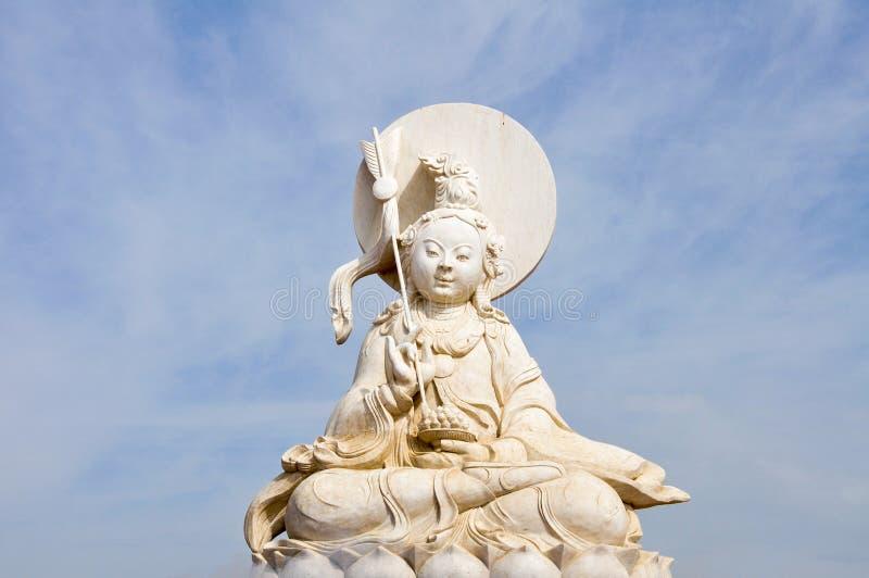 Staty av Avalokitesvara arkivbild