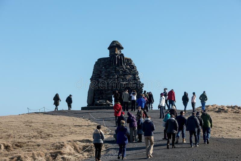 Staty av Bardur Snaefellsnes, Island royaltyfri foto