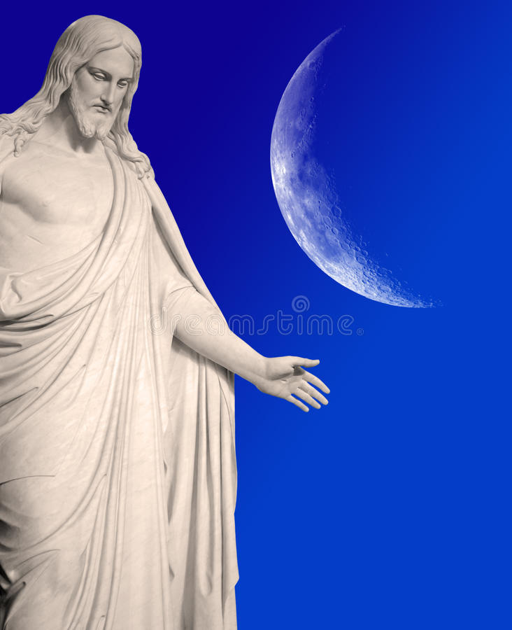 Staty av den Jesus Kristus royaltyfria foton