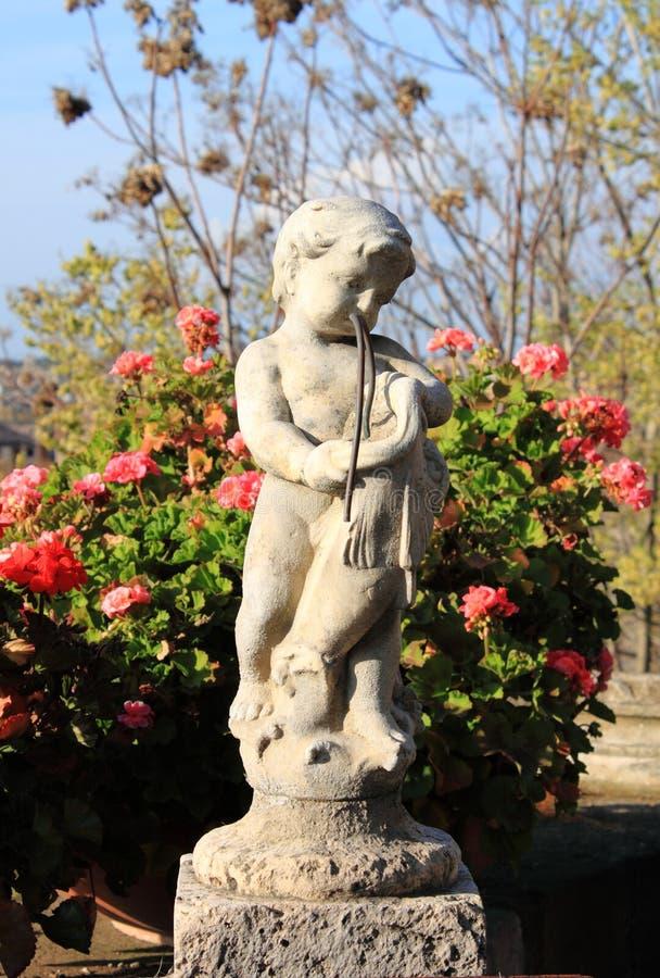 Staty av ett barn royaltyfri bild