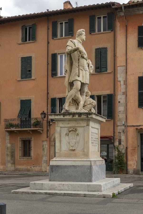 Staty av Ferdinando mig de 'Medici, storslagen hertig av Tuscany royaltyfri foto