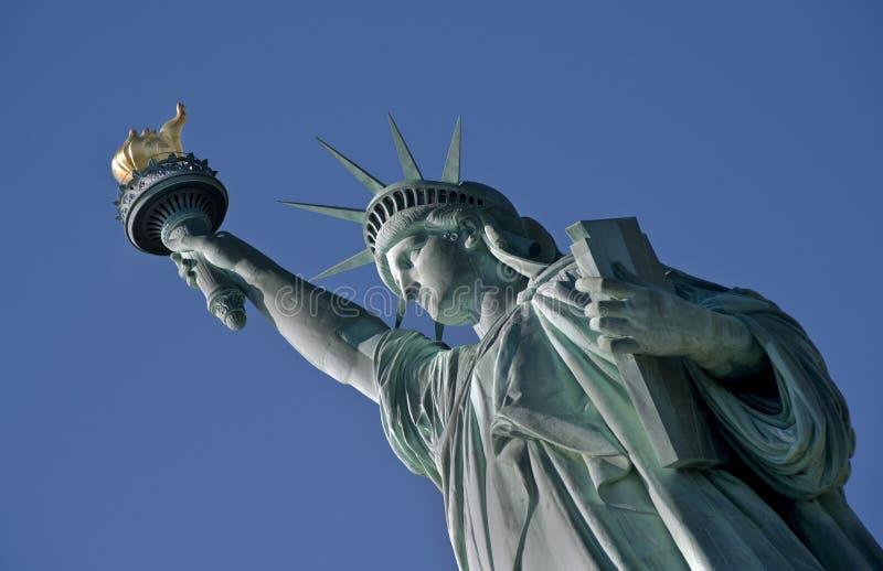 Staty av frihet. arkivbild