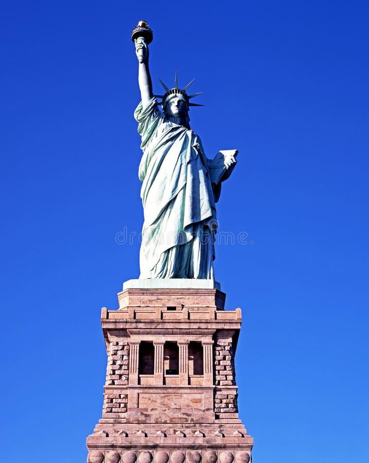 Staty av frihet, New York. arkivbilder