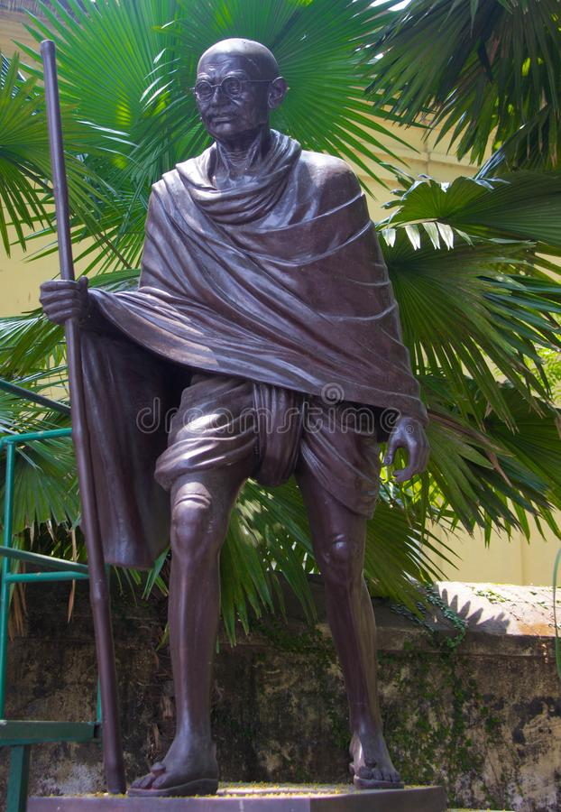 Staty av Gandhi arkivfoto