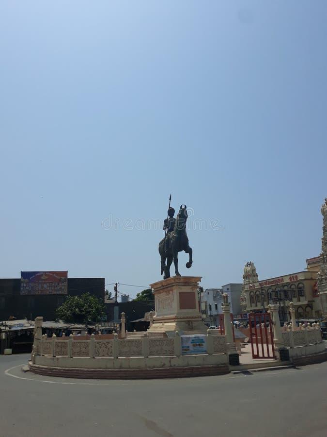 Staty av hamirjigohil arkivbild