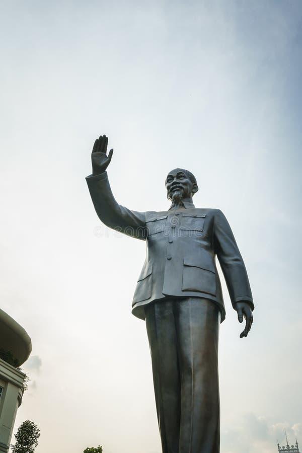 Staty av Ho Chi Minh arkivfoton