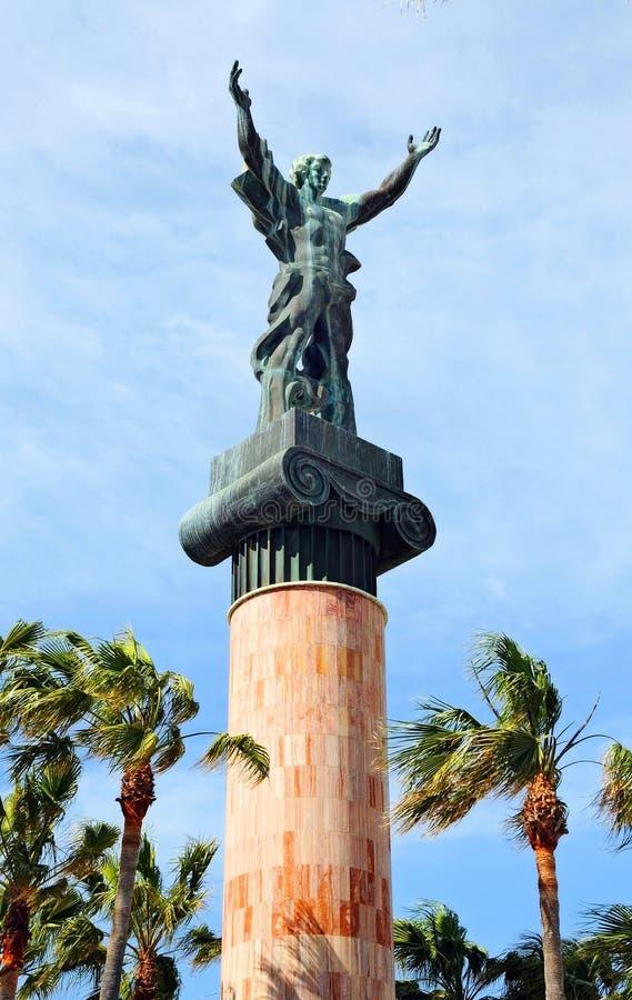 Staty av Jose Banus royaltyfria bilder
