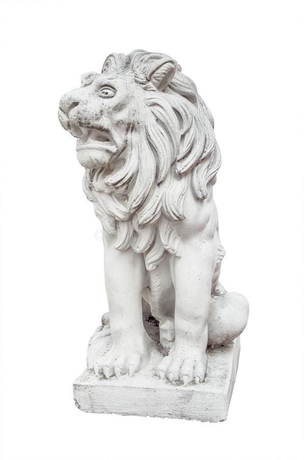 Staty av lionen arkivfoton