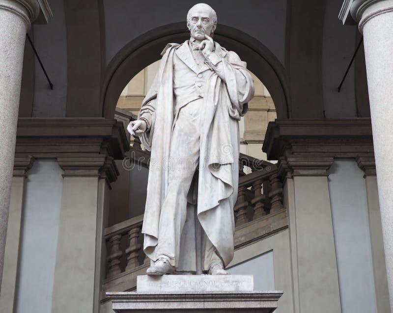 Staty av Luigi Cagnola royaltyfri foto