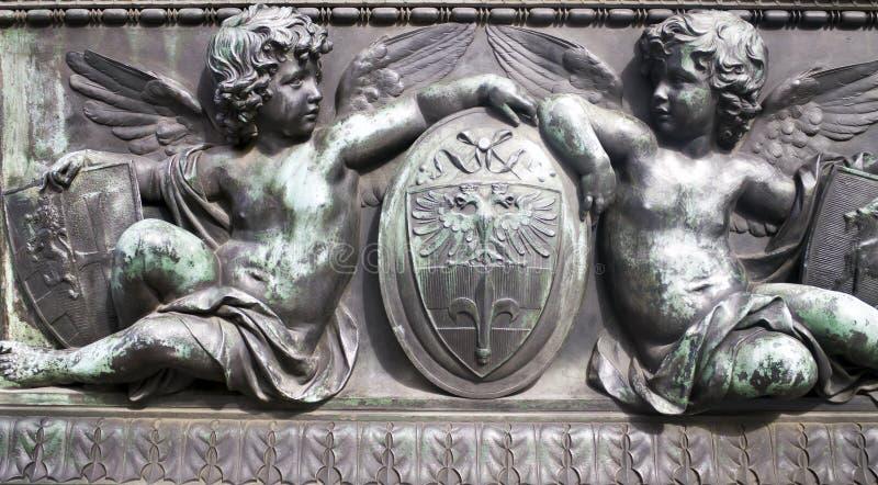 Staty av mytiskt vara royaltyfri bild
