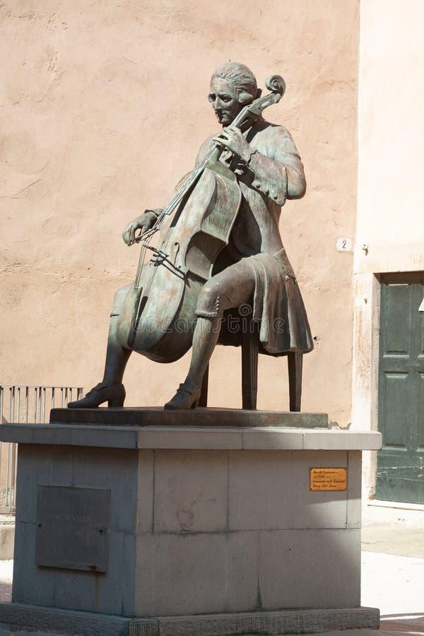 Staty av Ridolfo Luigi Boccherin royaltyfria foton