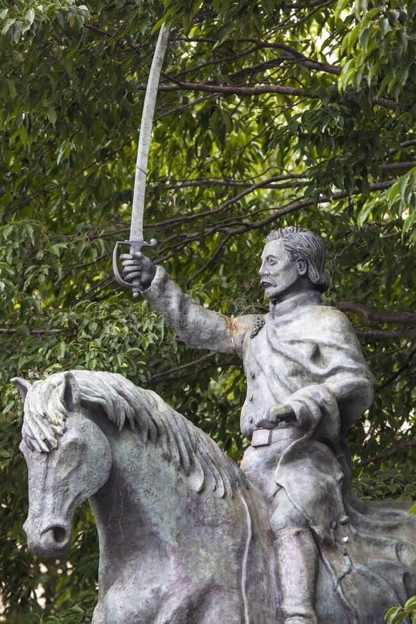 Staty av Thomas Francis Meagher i Waterford royaltyfri foto