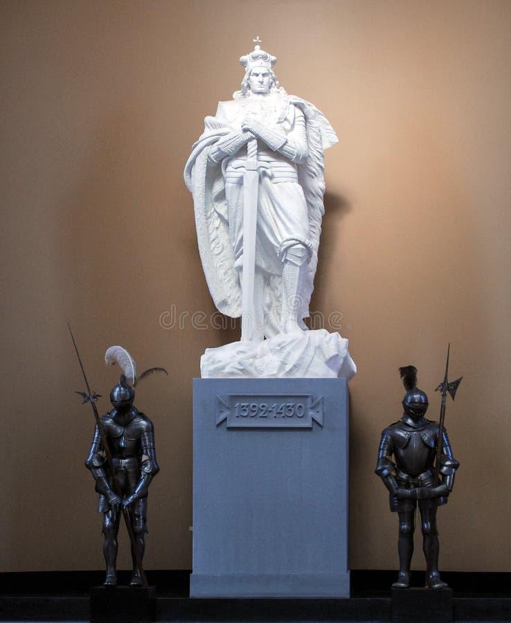 Staty av Vytautas arkivbild