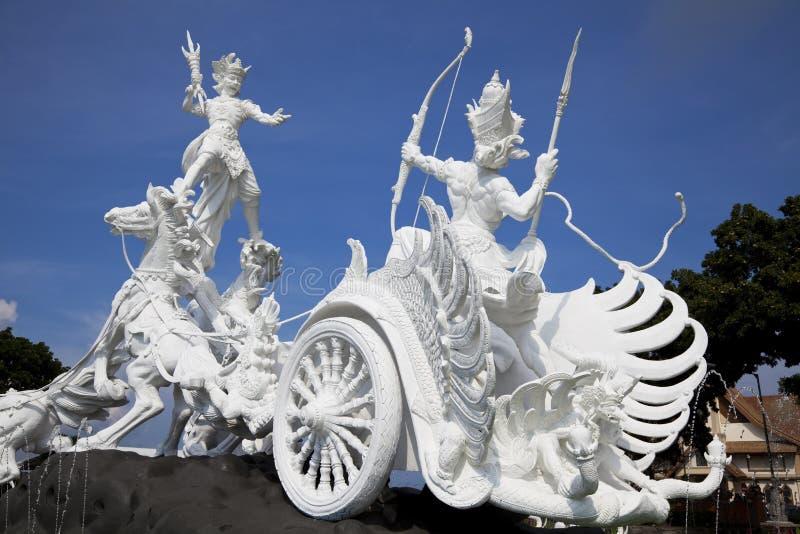 staty för bali gatotkacaindonesia satria arkivbilder
