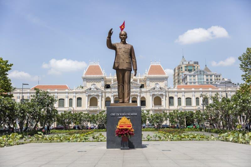 staty för chihominh royaltyfri fotografi