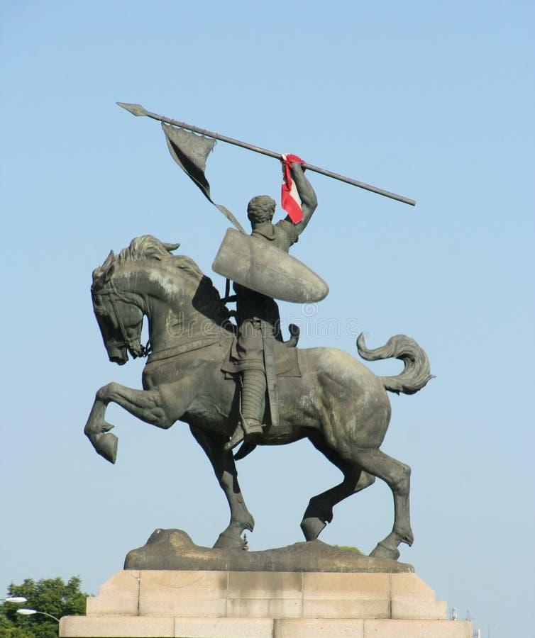 Staty för El Cid arkivfoto