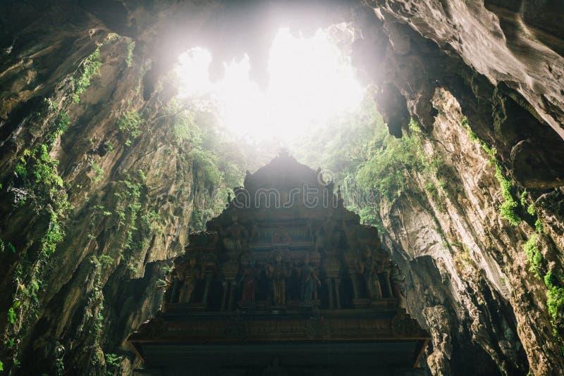 Staty i Batu grottor, Kuala Lumpur royaltyfri bild
