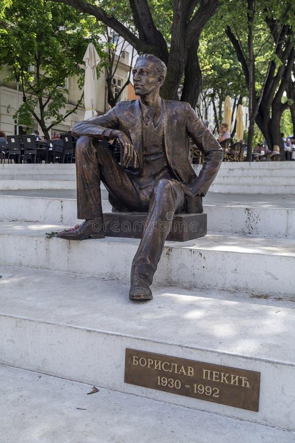 Staty i Belgrade arkivfoto