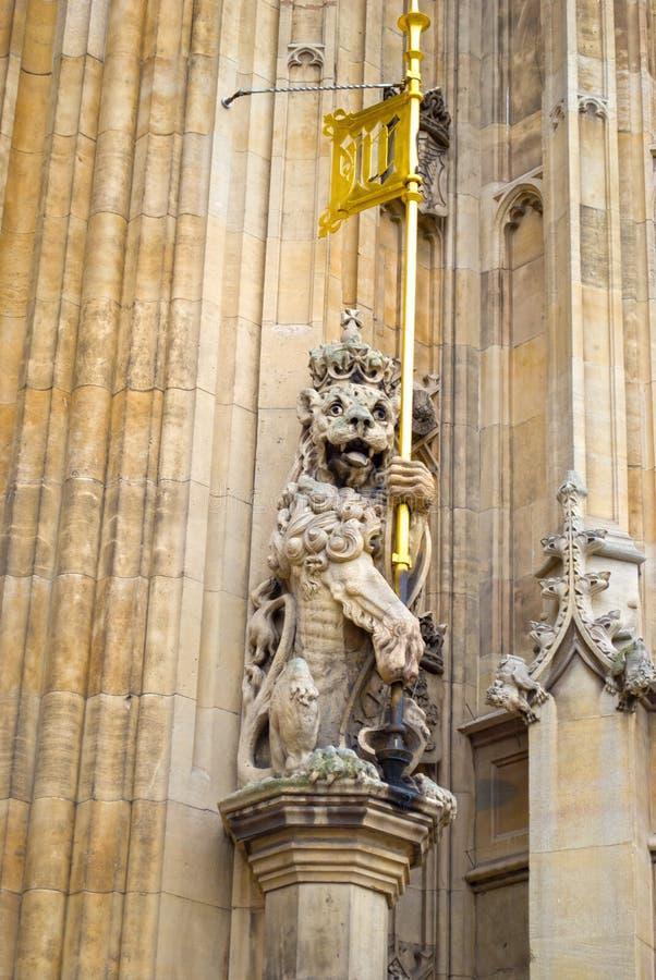 Staty i husen av parlamentet, London royaltyfri fotografi