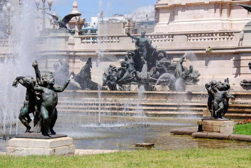 Staty i kongress- Plaza royaltyfria bilder