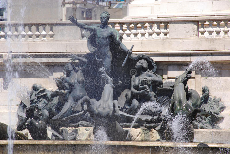 Staty i kongress- Plaza arkivbild