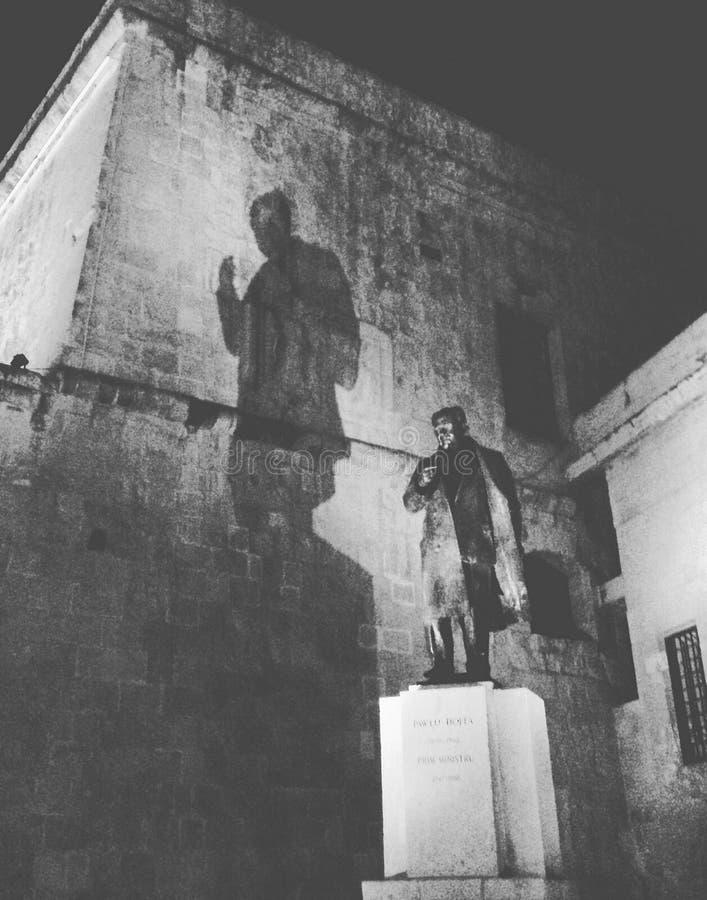 Staty i Malta royaltyfri bild