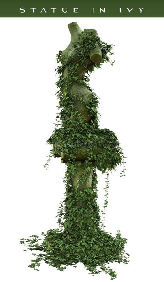 Staty i murgröna royaltyfri illustrationer