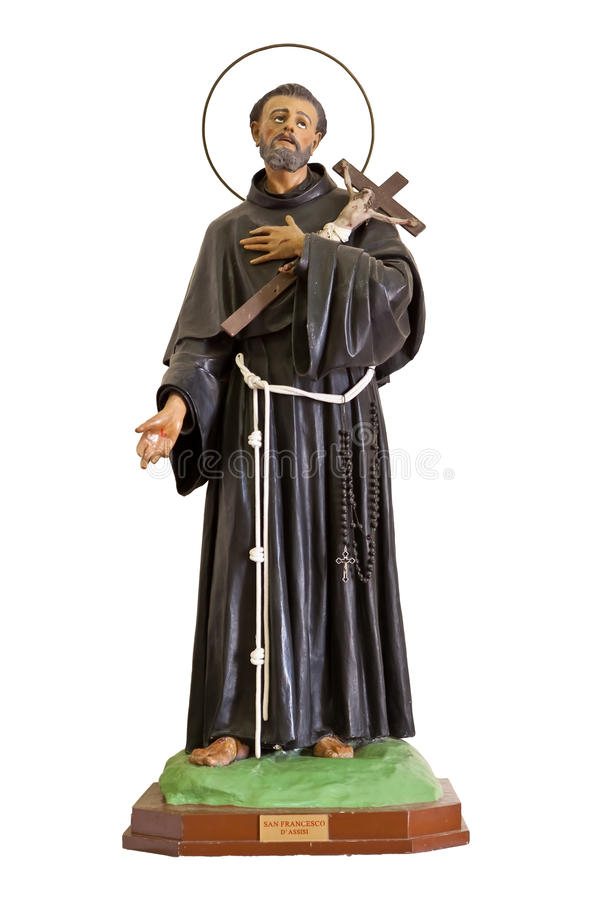 Staty San Francesco, Noto, Sicilien, Italien royaltyfri bild