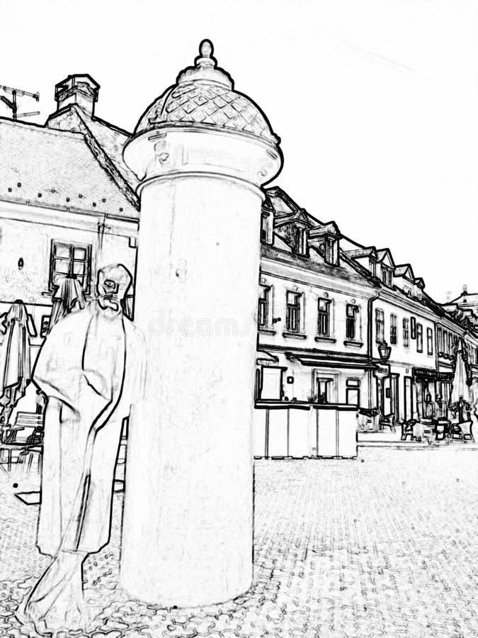 StatyAugusti Åenoa arkivfoton