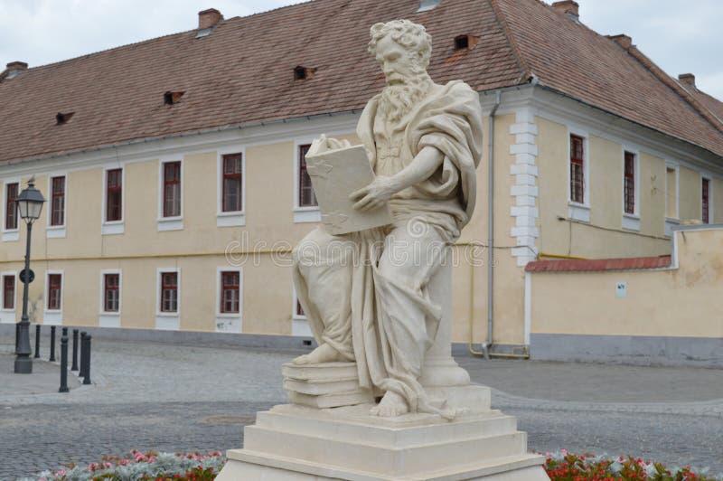 Statylärare som läser arkivfoton