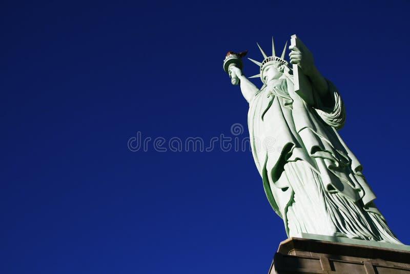 Statyn av frihet, Amerika, amerikanskt symbol, Förenta staterna royaltyfri bild