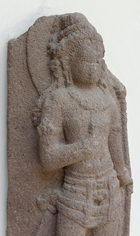 Statyn av Parvati arkivfoto
