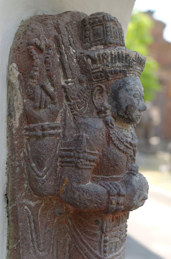 Statyn av Shiva arkivbild